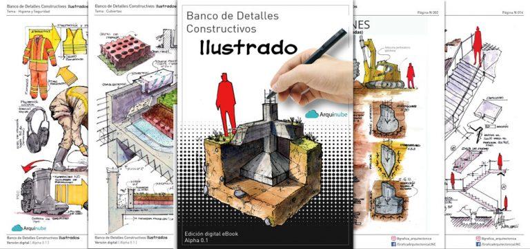 Banco de Detalles Costructivos Ilustrado-Arquinube