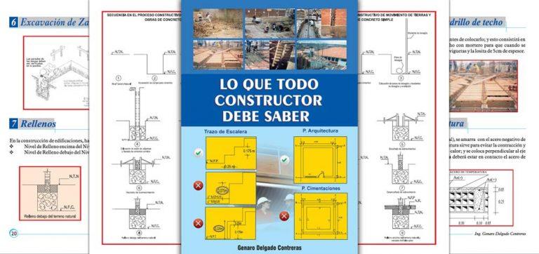 Lo que todo Constructor Debe Saber – Genaro Delgado Contreras