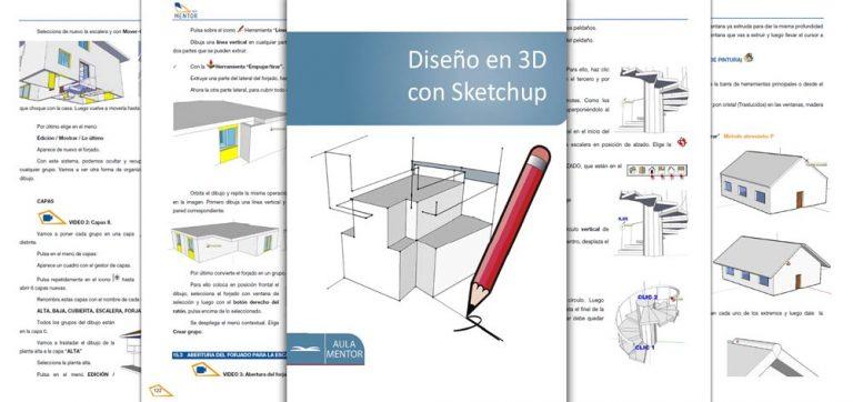 Diseño-en-3D-con-Sketchup