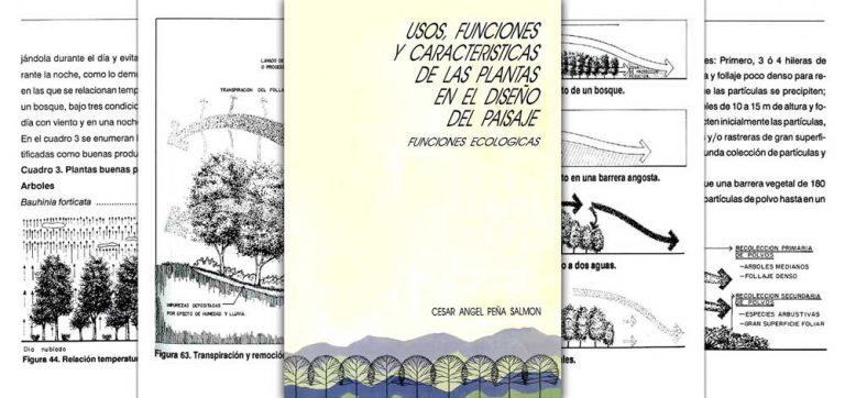 USOS, FUNCIONES Y CARACTERÍSTICAS DE LAS PLANTAS EN EL DISEÑO DEL PAISAJE (CESAR ANGEL PEÑA)