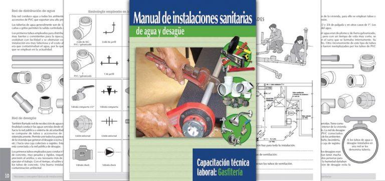 MANUAL DE INSTALACIONES SANITARIAS DE AGUA Y DESAGÜE