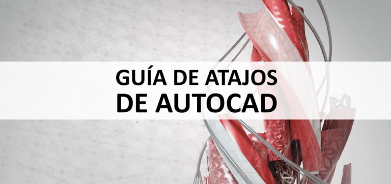 guía de atajos de autocad