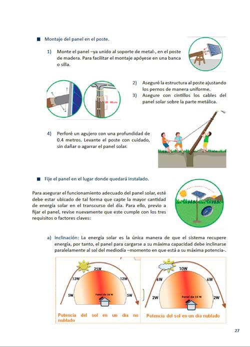 Manual de instalación de un sistema fotovoltaico domiciliario