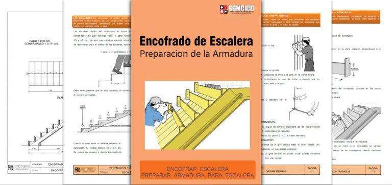 Encofrar-Escalera-Preparar-Armadura